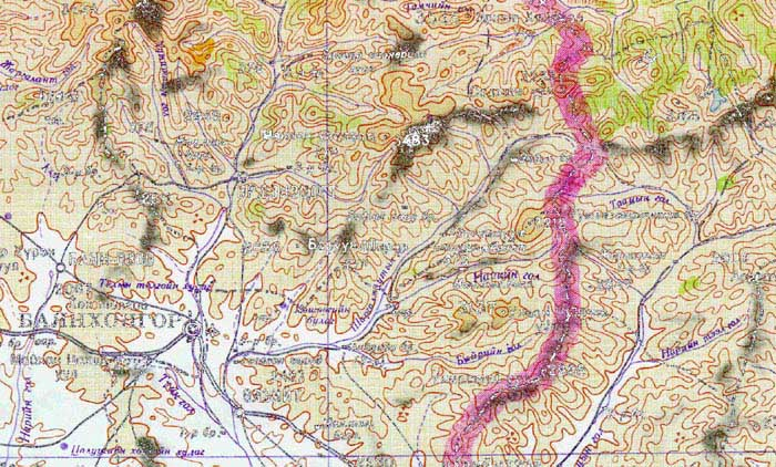 Topographical Map Of China. Topographic maps ordering